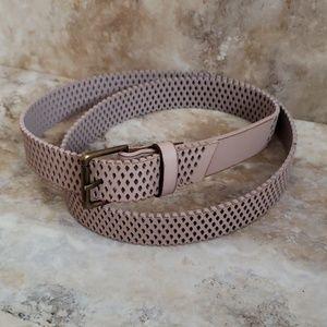 AEO • Mauve Perforated Fully Adjustable Belt